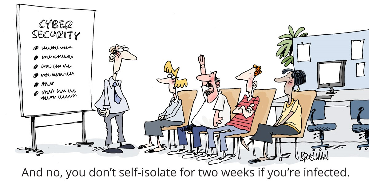 Self Isolate | Get Cyber Resilient | Cyber Security News
